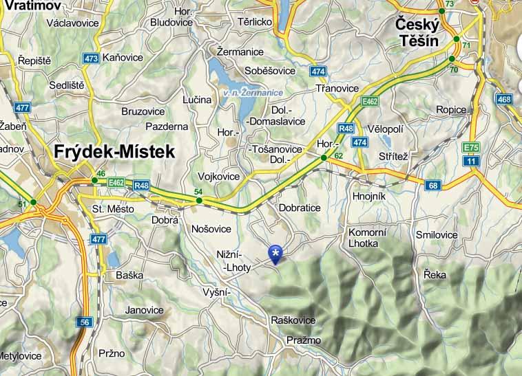 Odkaz na Mapy.cz